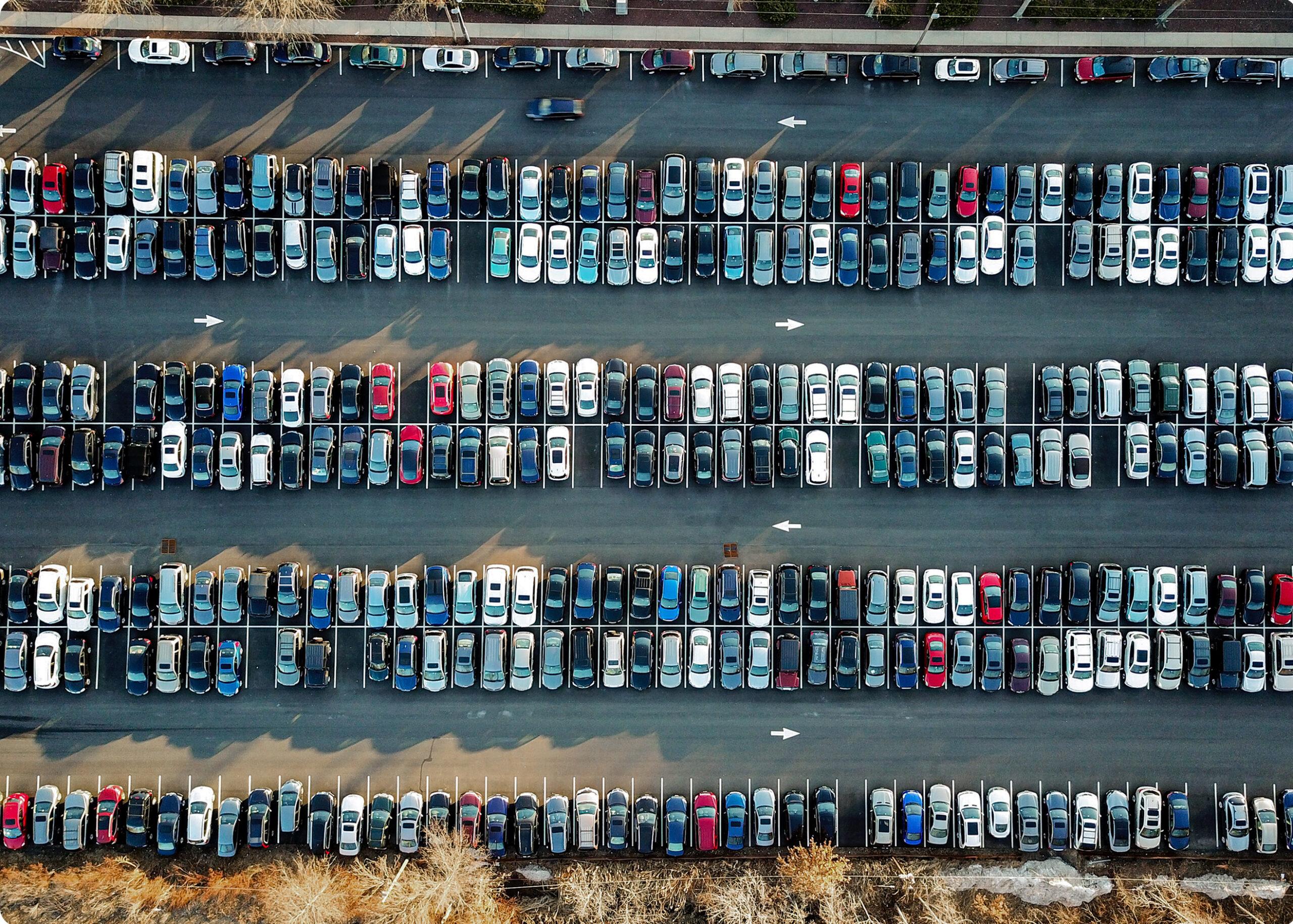 Lot of vehicles
